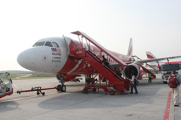 エアアジア初搭乗