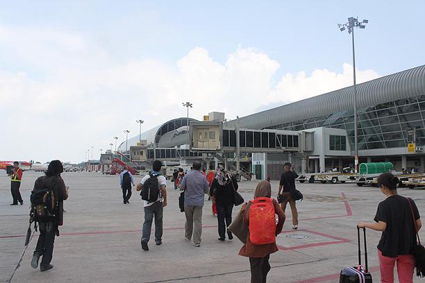 ペナン空港到着